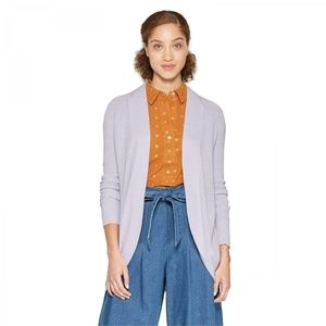 NEW A New Day Cocoon Cardigan Sweater Lavender M